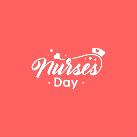 Nurse Day Vector Design Illustration For Celebrate Moment