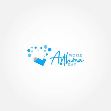 World Asthma Day Vector Design Illustration For International Moment