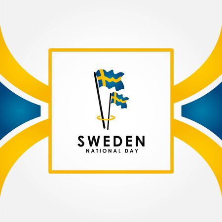 Sweden Independence Day Vector Design Illustration For Celebrate Moment