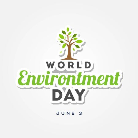 Happy World Environment Day Vector Design Illustration For Celebrate Moment