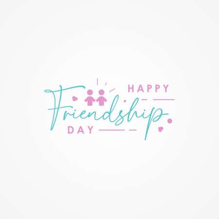 Friendship Day Vector Design Illustration For Celebrate Moment
