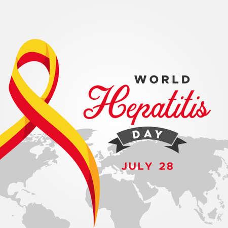 World Hepatitis Day Vector Design Illustration For Celebrate Moment