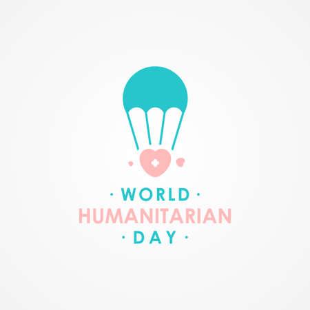 World Humanitarian Day Vector Design Illustration For Celebrate Moment Vecteurs