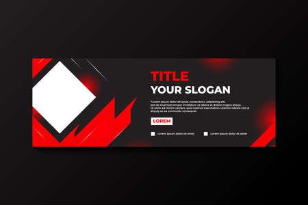 Elegant Banner Vector Design Illustration For Marketing