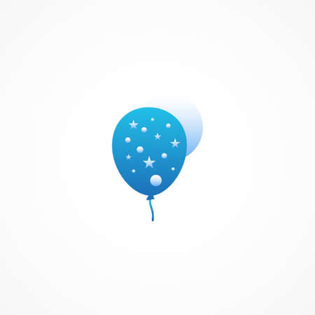 Balloon Party Ornament Vector Design Illustration For Banner and Background 矢量图像