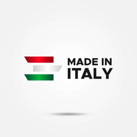 Made In Italy Vector Design Template Background