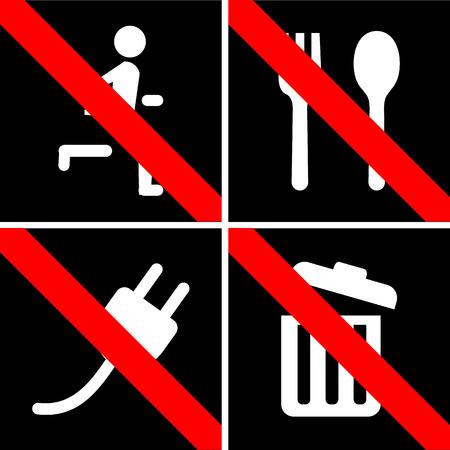 prohibido: Prohibido ninguna se�al de parada