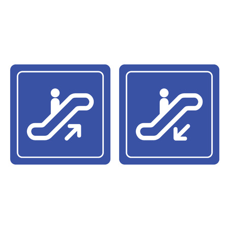 ideograph: Up and down sign vector