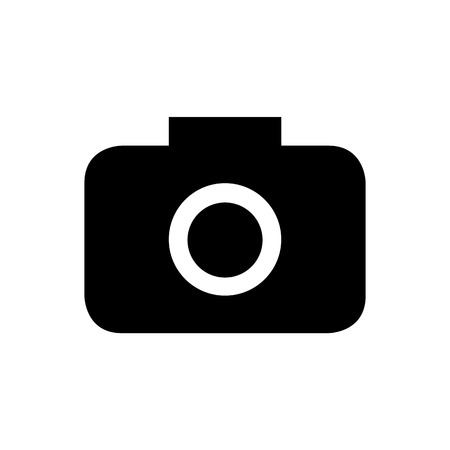 journalistic: Camera icons on white background