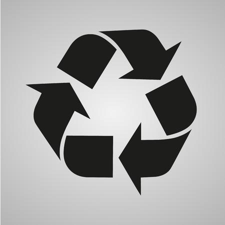 reciclar basura: Recicle la muestra aislada