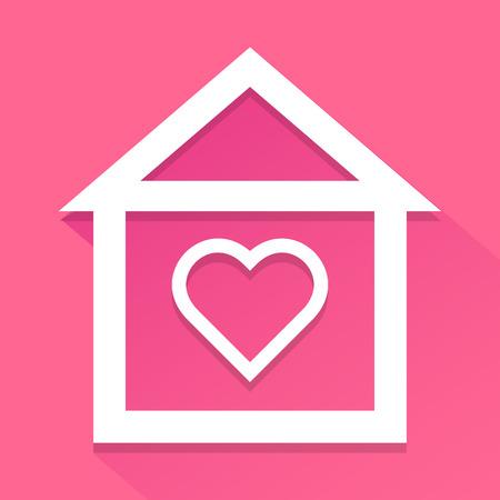habitation: Valentines home icon
