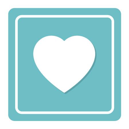 heart attack: Heart sign Illustration