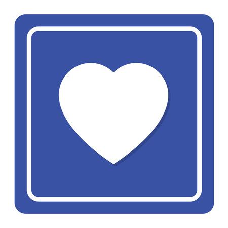Heart sign Vector