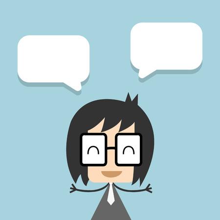 Vector businessman thinking ,