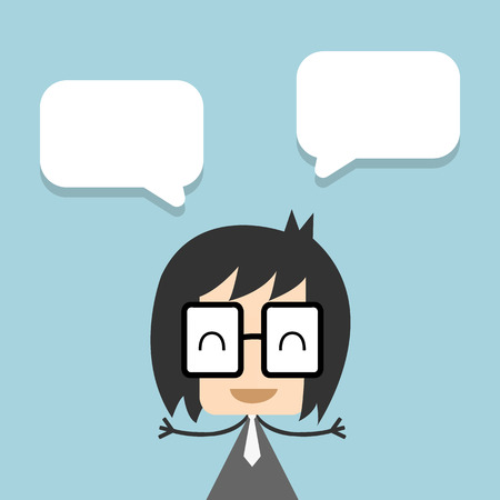 Vector businessman thinking ,