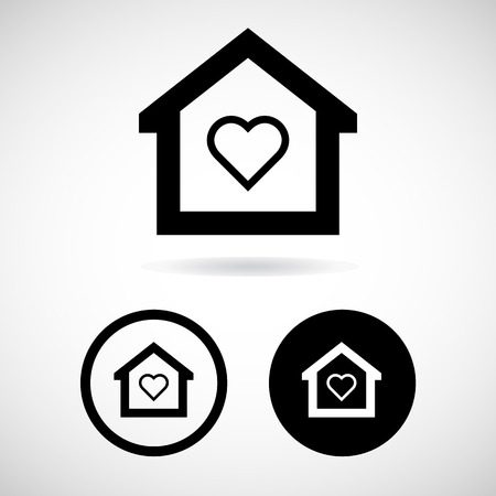icono home: Home icon vector