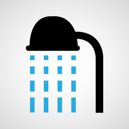 Shower icon and vector, take a bath, Vector
