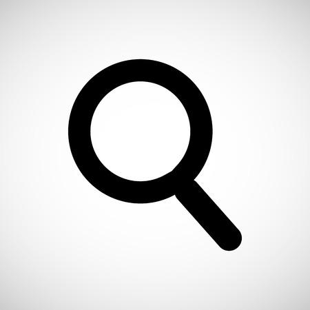 Recherche icône, illustration vectorielle Banque d'images - 38421262