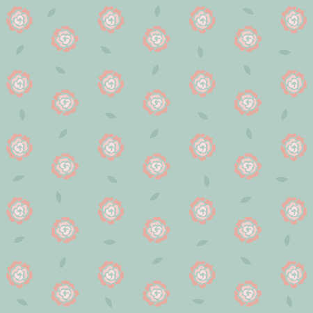 Seamless roses pattern background,  Vector