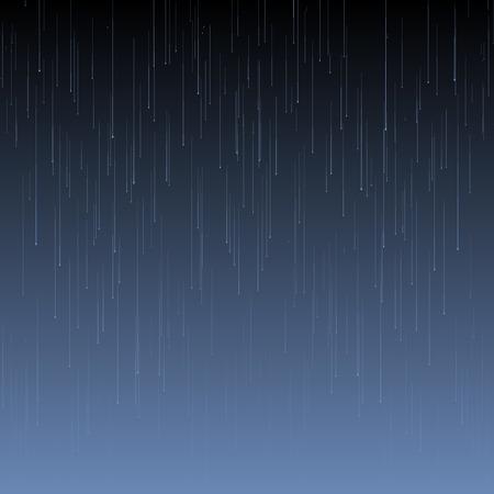 Vector de fondo con la lluvia y las olas en las drops.EPS 10