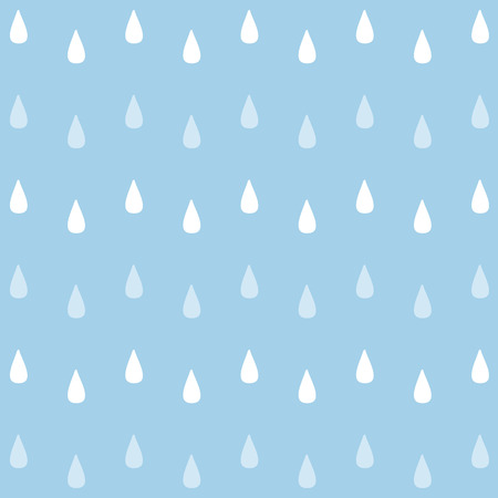 seamless watercolor rain pattern.