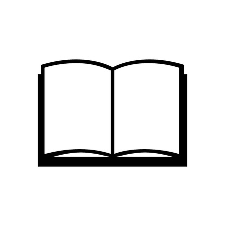 Book icon, Vector illustration Vector