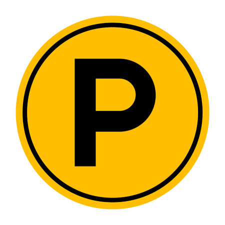 parking sign: Parking Sign, Vector illustration