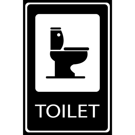 toilet symbol: Vector toilet symbol, Illustration EPS10 Illustration