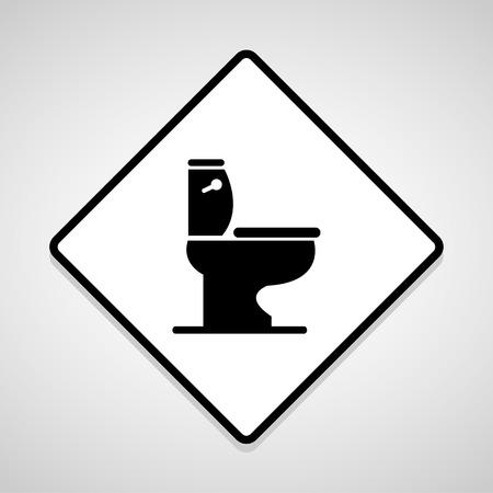 eps10: Vector toilet symbol, Illustration EPS10 Illustration