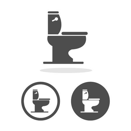 Vector toilet symbol, Illustration EPS10 Illustration