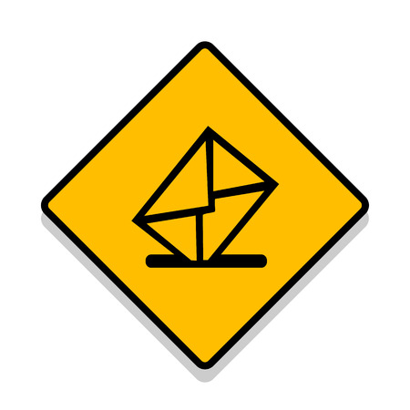 Vector Mailbox-Symbol Illustration EPS10 Illustration