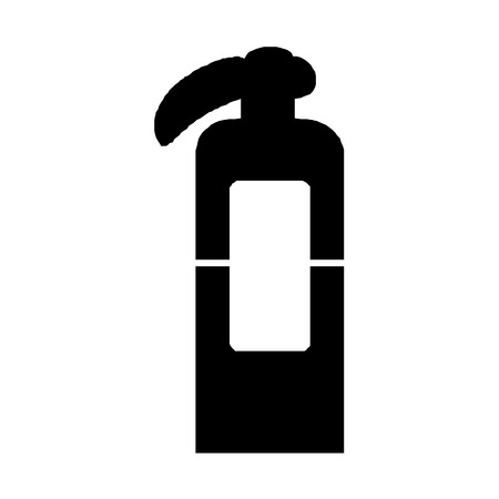 objects with clipping paths: Vector fire extinguisherIllustration EPS10