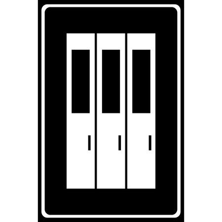 eps10: Vector locker icon Illustration EPS10