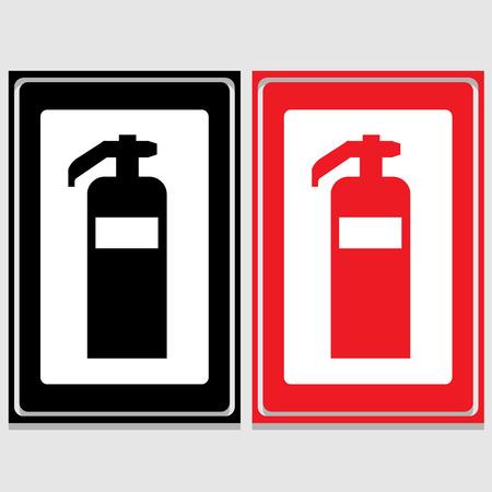 detachment: Vector fire extinguisherIllustration EPS10