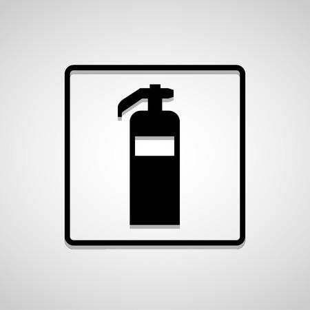 suppression: Vector fire extinguisherIllustration EPS10