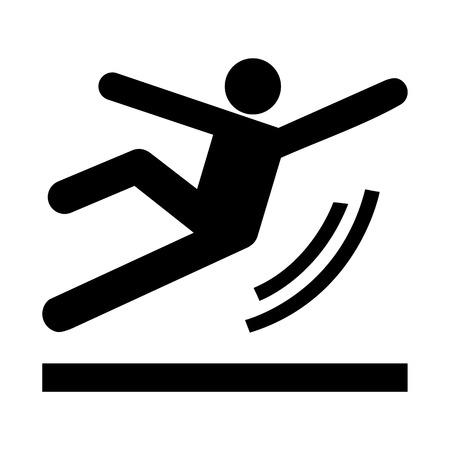tricky: Vector Wet Floor Warning Sign Illustration