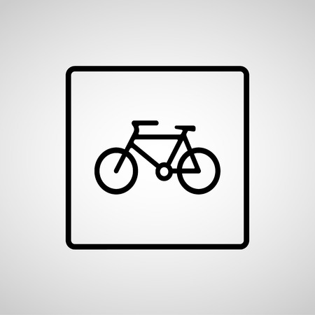 eps10: Vector bicycle icon, Illustration EPS10