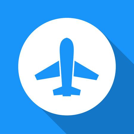 airplane icon: Vector airplane icon, Illustration EPS10 Illustration