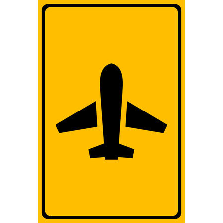 aereo icona: Vettore aereo icona, illustrazione EPS10
