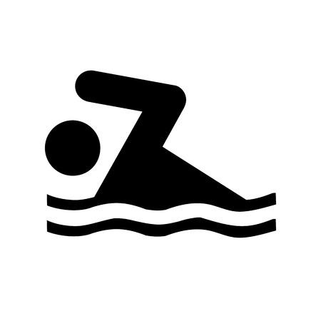 Vector duik pictogram, Illustratie EPS10
