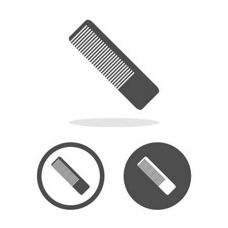 haircutting: Vector comb sign, Illustration EPS10