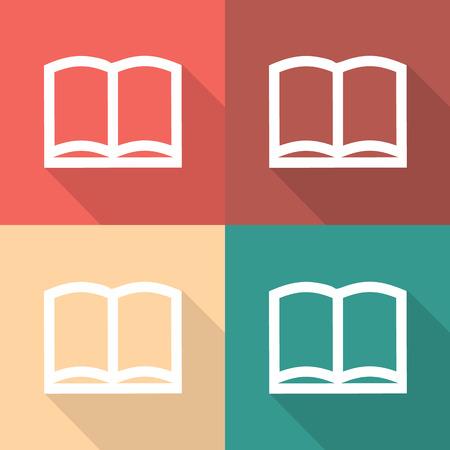 book vector: Vector book icon, Illustration   Illustration