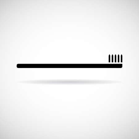 Vector Toothbrushes icon, Illustration EPS10