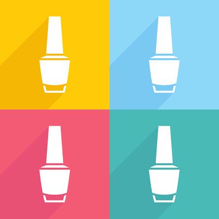 nail polish: nail polish Illustration
