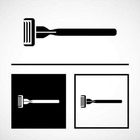 razor wire: Vector razor vector icon, Illustration EPS10 great for any use. Illustration