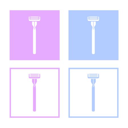 razor wire: Vector razor vector icon,  great for any use.