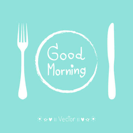 feel good: Vector good morning poster, Illustration great for any use.