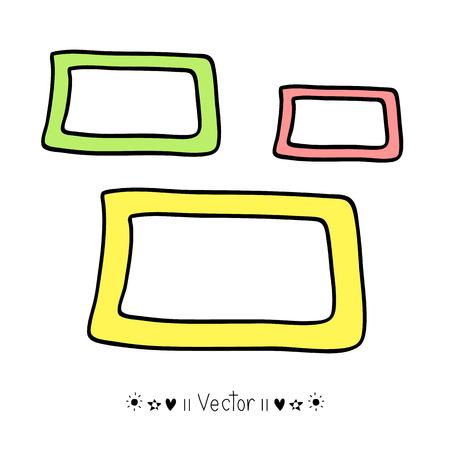 handdrawn: Vector Illustration of Hand-Drawn Doodles and Design Elements. Illustration EPS10 Illustration