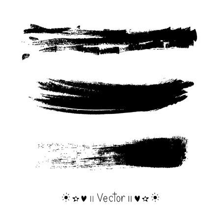 cepillo: Pincelada del vector, Ilustración