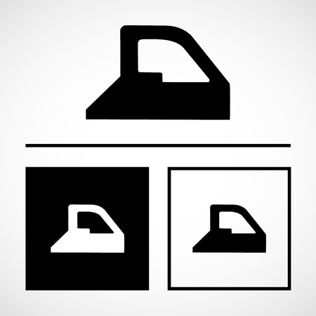 flatiron: Simple icon iron with steam great for any use.
